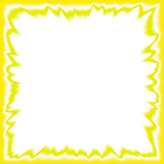 yellow flames border