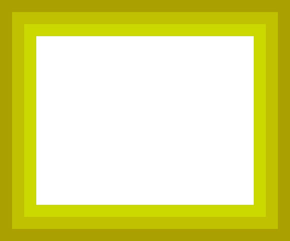 yellow on white frame