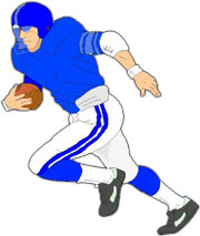 Image result for youth tackle football clipart