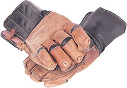 hockey gloves black