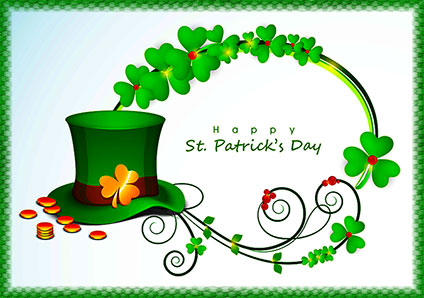photograph about Free Printable Clipart for St Patrick's Day known as Cost-free Saint Patricks Working day Gifs - St. Patricks Working day Clipart