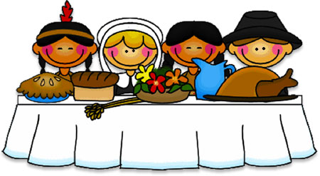 Image result for thanksgiving feast clipart