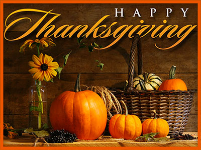 Free Happy Thanksgiving Graphics - Animations - Clipart