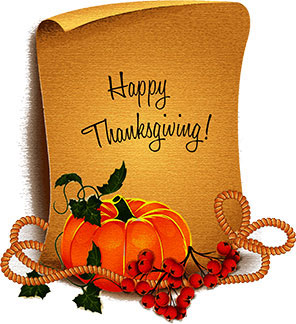 Free Happy Thanksgiving Animations - Clipart - Graphics (296 x 324 Pixel)