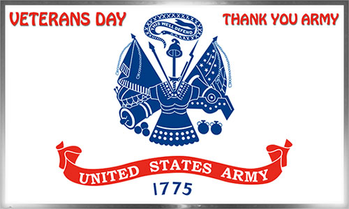 Thank You Army - Veterans Day