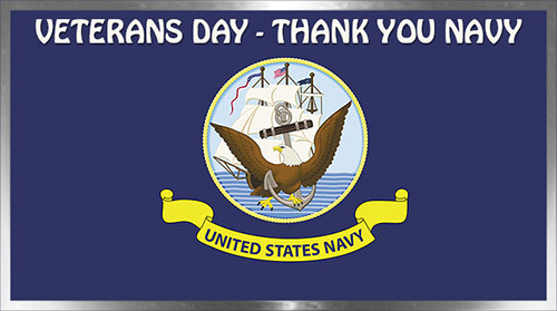 Thank You Navy - Veterans Day