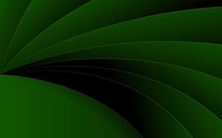 abstract in green and black