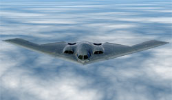 B-2 Aircraft background