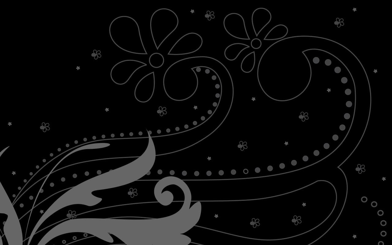 Black graphics designs background bing images for Black wallpaper with design