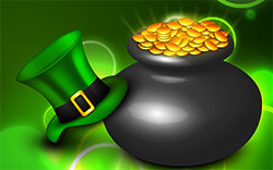 green hat pot of gold