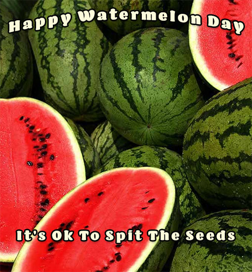 Happy Watermelon Day seeds