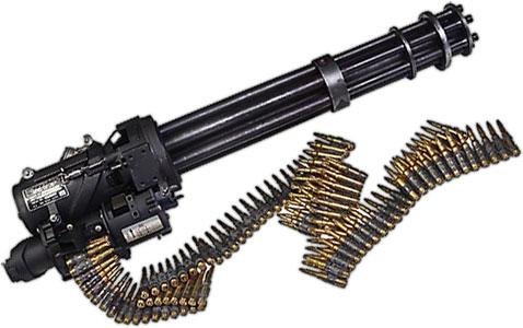 Minigun Bullet Free Weapons Clipart -...