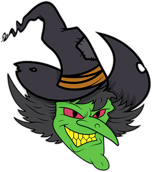 angry witch clipart